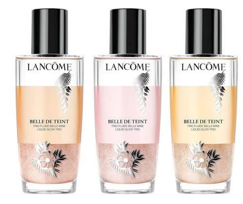 Lancôme makeup collection 2016: Summer bliss, Belle de Teint Liquid glow trio review on Fashion and Cookies fashion blog, fashion blogger