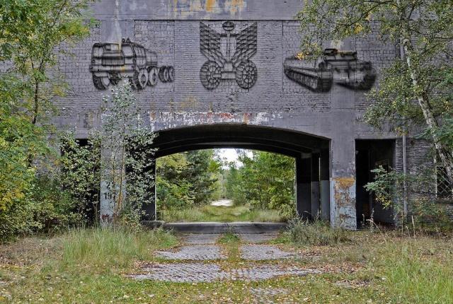 Instalaciones soviticas abandonadas en Alemania