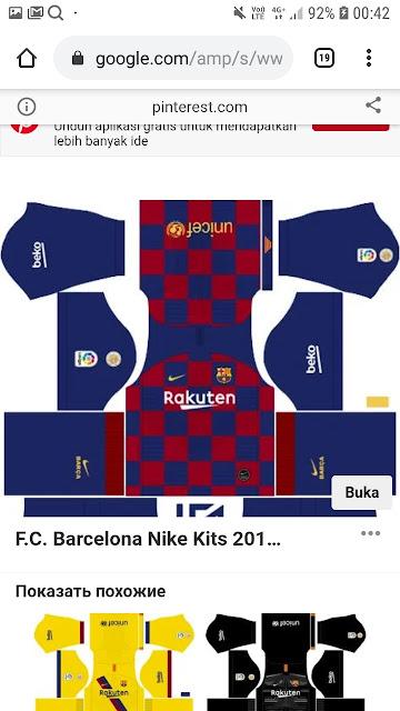 Kit dls Barcelona 2020