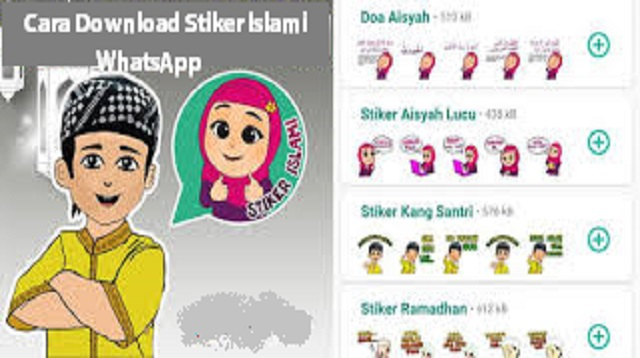 Cara Download Stiker Islami WhatsApp
