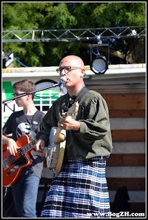 BogZH Celtic Cats ! Concert Campbon Loire Atlantique - Virades de l'Espoir - Gilles banjo ténor