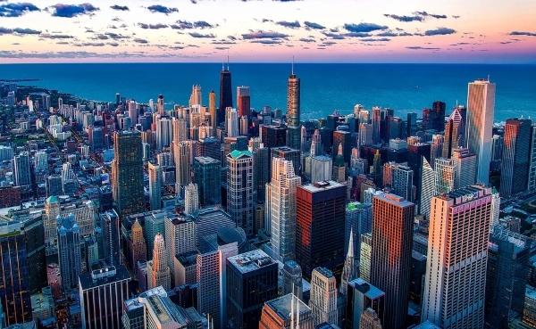 grattacieli-Chicago-Stati Uniti-metropoli-città