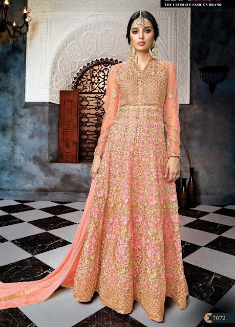 Hotlady gulnaaz Anarkali bridal Wedding Salwar kameez