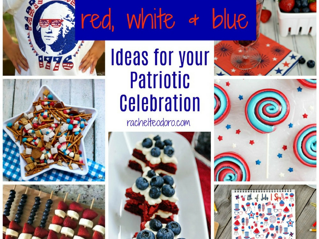patriotic, veteran, holiday, party ideas, appetizers