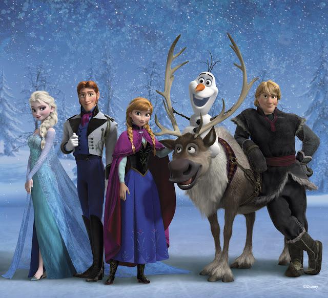 Disney tapetti Frozen Lapset Valokuvatapetit