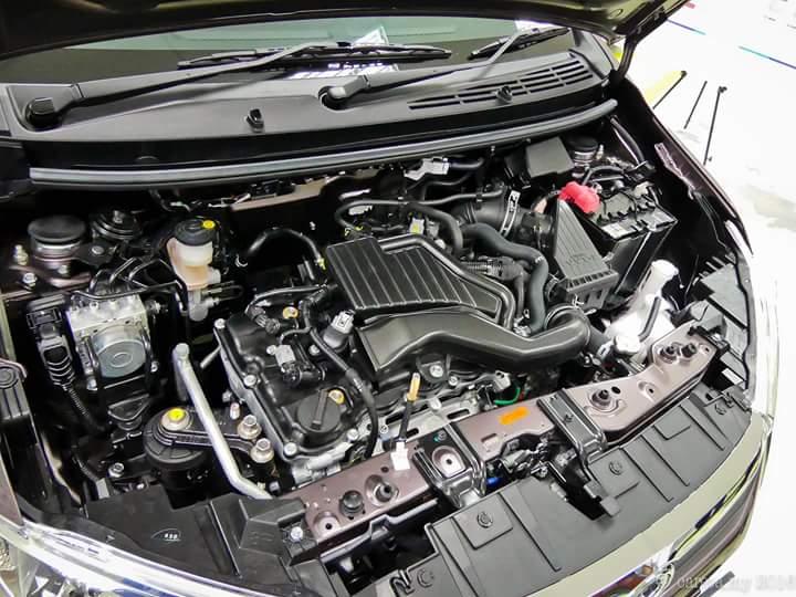 Spec Enjin Perodua Bezza