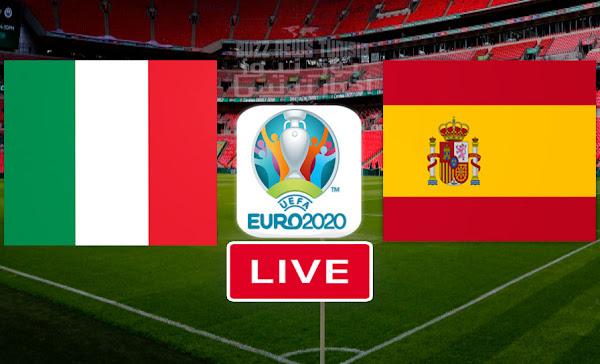 Match Italie vs Espagne en direct euro 2021