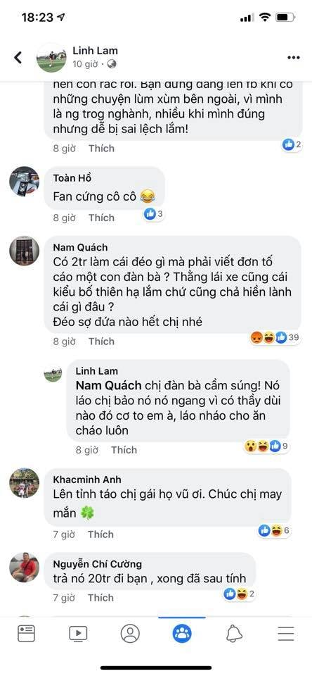 Phiên bản Lê Thị Hiền tái xuất: Bị lên tố quỵt tiền taxi nữ Trung tá chửi cộng đồng mạng là chó?
