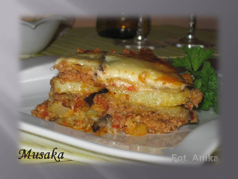 Domowa Kuchnia Aniki Grecka Musaka