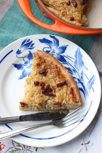 tarte aux oignons version allemande