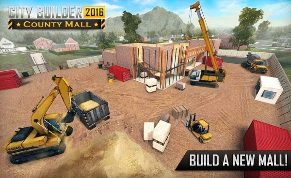 City Builder 2016: County Mall Mod Apk