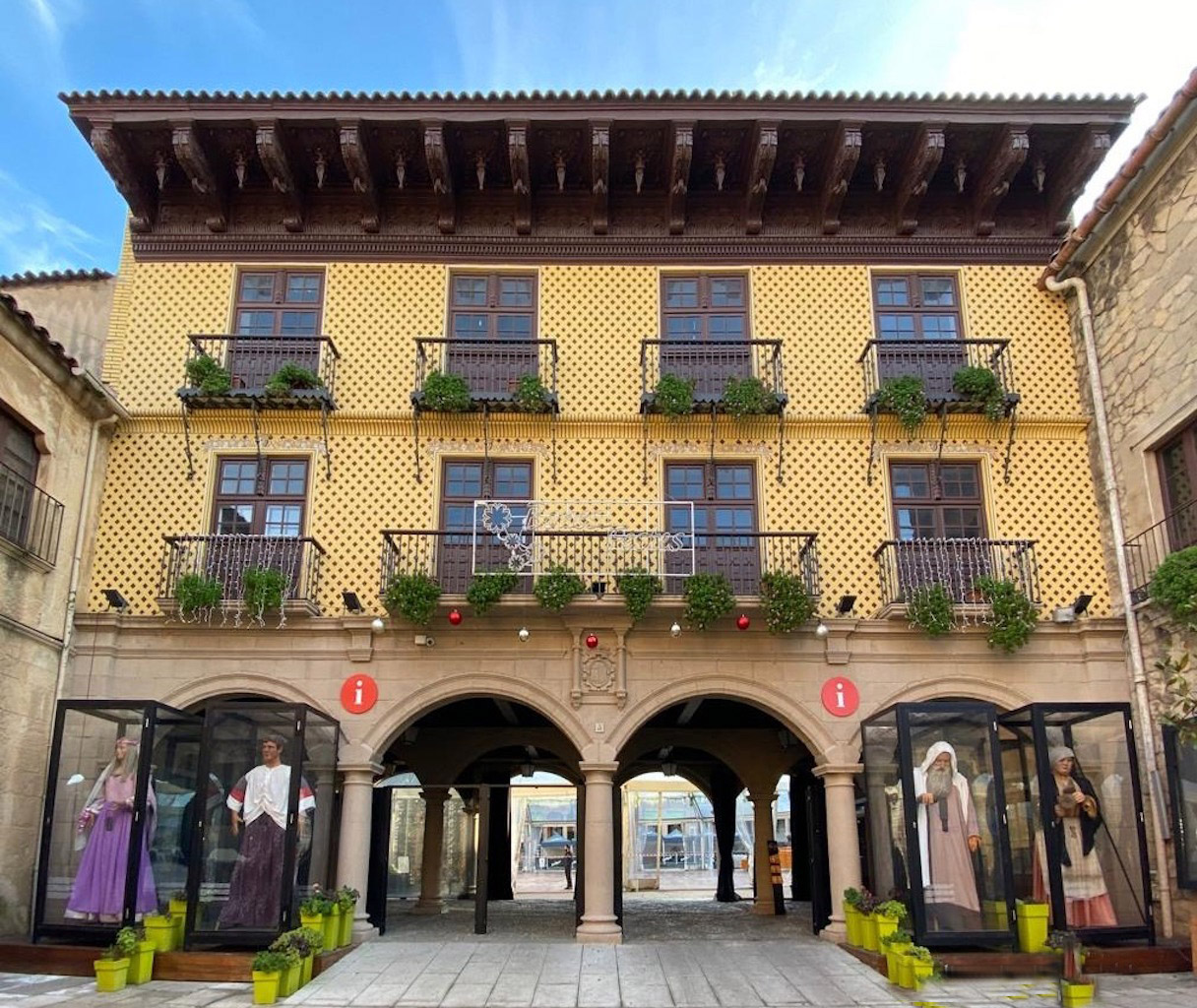 Музей - Испанская деревня в Барселоне