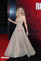 Jennifer Lawrence in a golde glittering gown at Red Sparrow Premiere in London ~  Exclusive Galleries 006.jpg