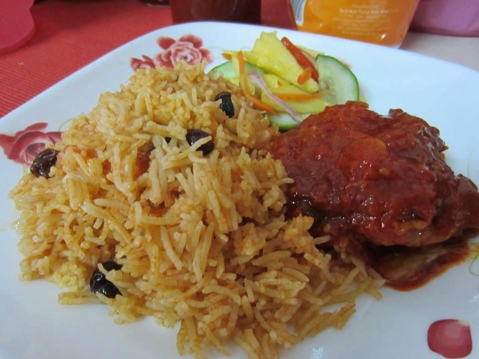 resepi nasi tomato ayam masak merah