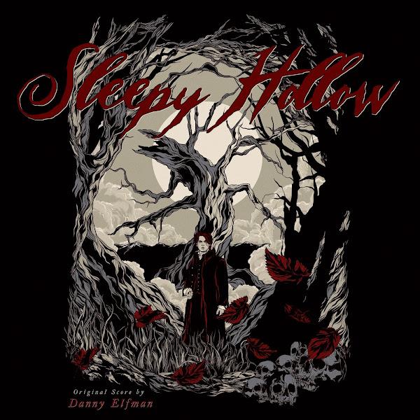 sleepy hollow soundtrack alternate cover danny elfman
