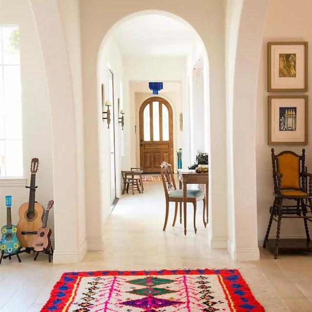 İspanyol Tarzı Oturma Odaları