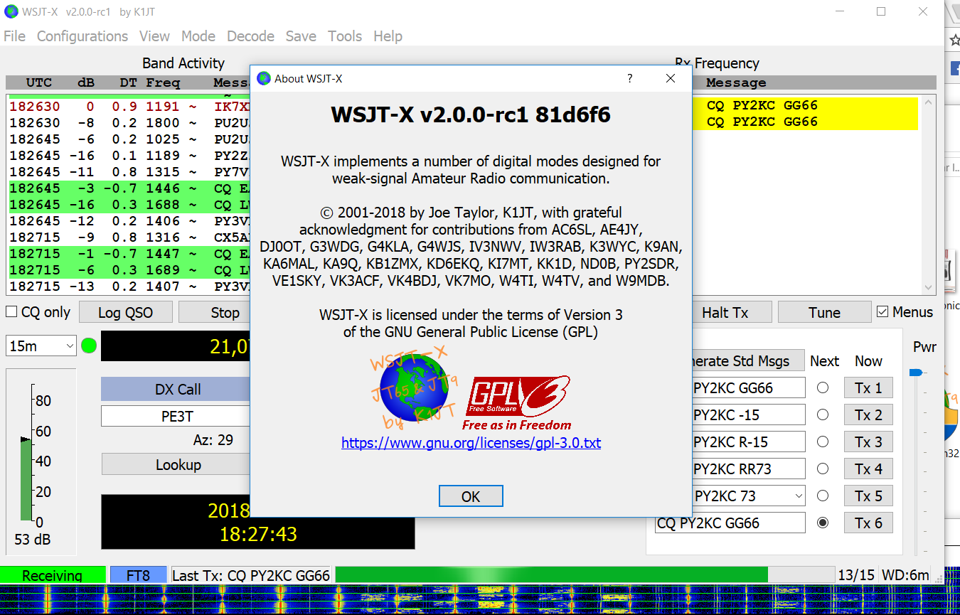 Tom Mcquiggan Wsjt X Ft8