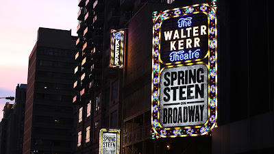 Kerr Theatre... Springsteen On Broadway... New York City