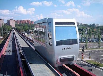 Il Mini Metro' di Perugia,per spostarsi in citta' con piu' facilita'.