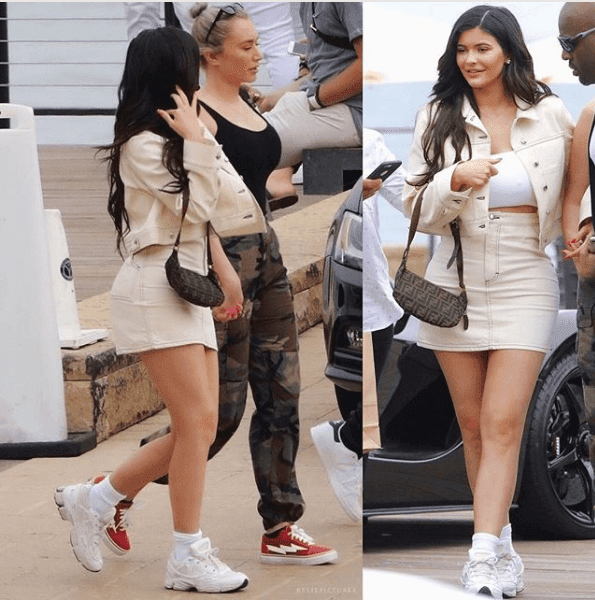 Luxury Makeup  Kylie Jenner And Stass Arriving At Nobu In Malibu Yesterday.With A Glowy Makeup Tutorial