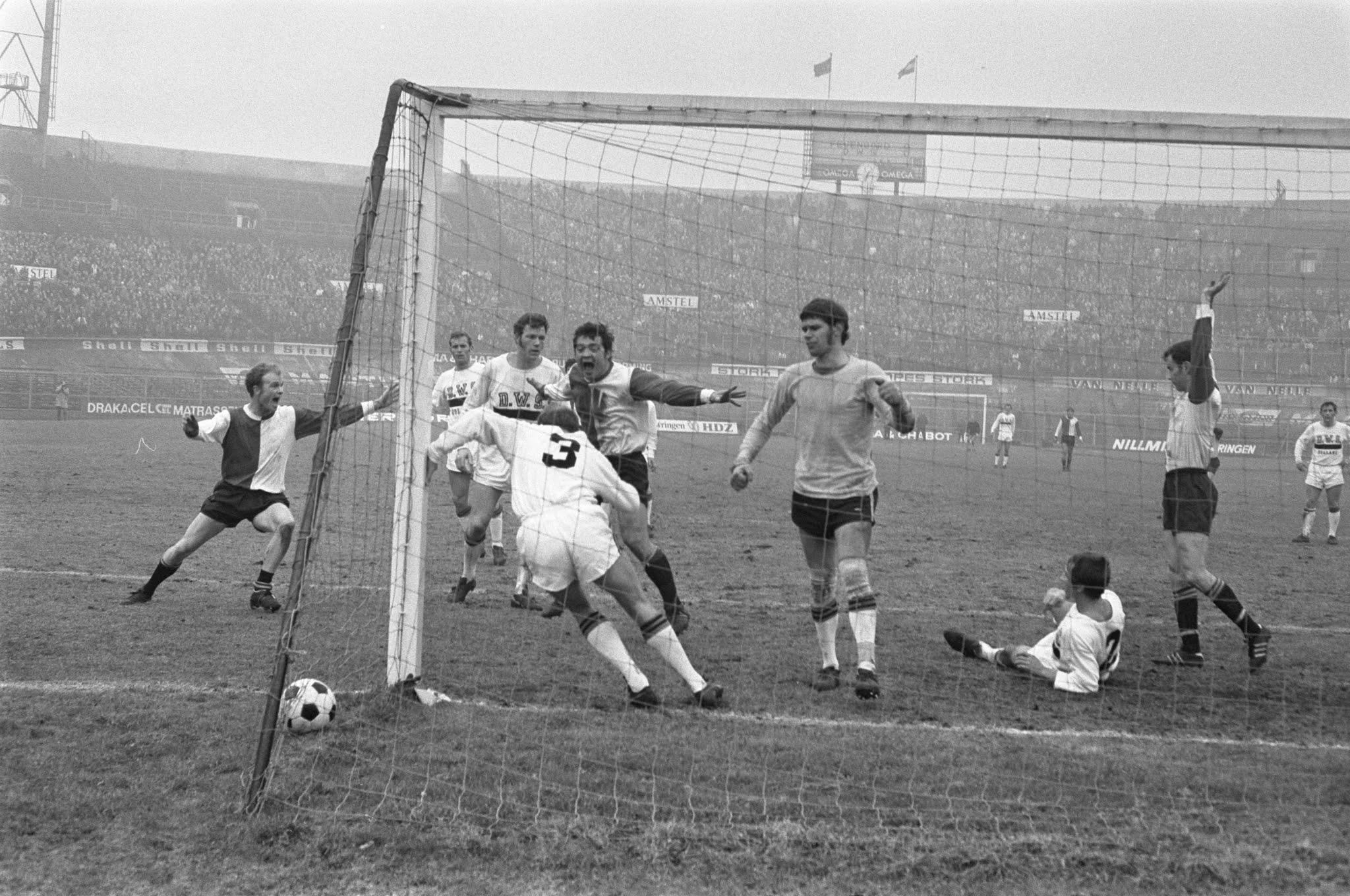 Ove Kindvall scoort eerste goal van hattrick