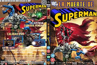 The Death of Superman - La Muerte de Sueperman - Cover DVD