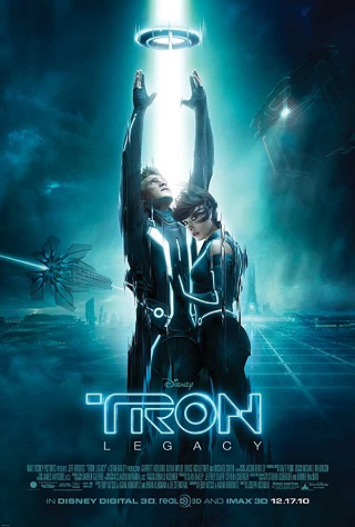 poster of Tron Legacy 2010 Full Dual Audio 900 MB BluRay 720p