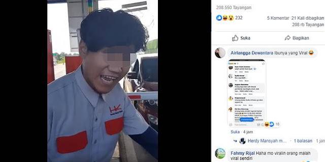 Viral! Beredar Video Petugas Tol Paksa Pengguna Bayar dengan Uang Cash