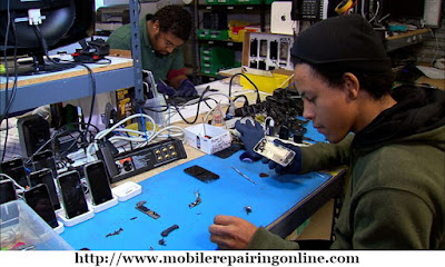 smartphone repair technician