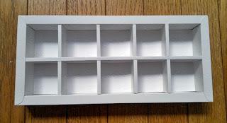 Kotak | Box coklat isi 16 (4x4)
