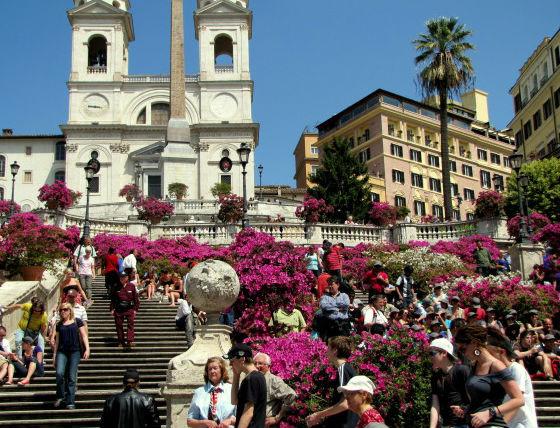 Πιάτσα ντι Σπάνια (Piazza di Spagna)
