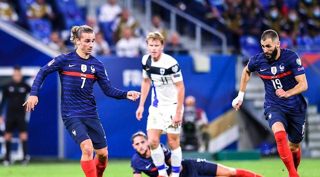 ملخص واهداف مباراة فرنسا وفنلندا (2-0) تصفيات كأس العالم
