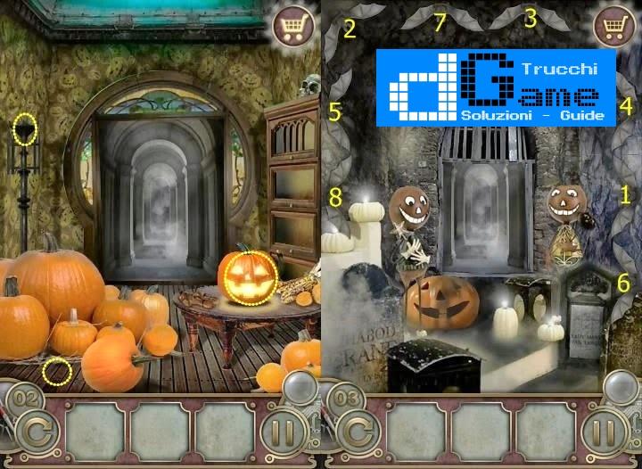 Soluzioni Escape The Mansion Halloween  di tutti i livelli | Walkthrough guide