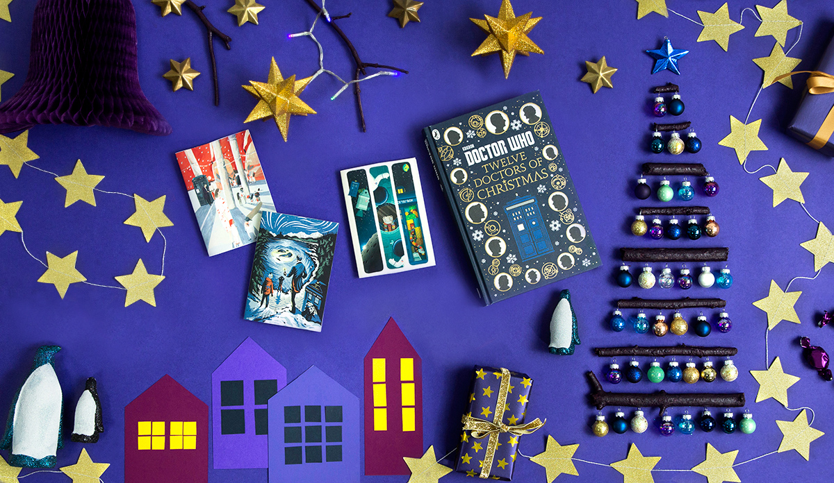 Doctor Who Christmas Cards.Doctor Who Twelve Doctors Of Christmas Book And Christmas Cards