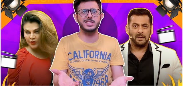 CarryMinati ने Salman Khan और उनके Colors reality show Bigg Boss को Roast करते हुए एक New Video Upload किया है।