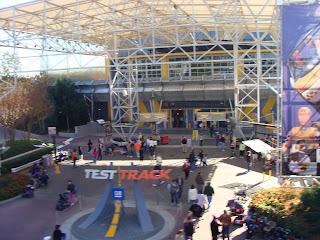 Original Test Track Entrance Epcot Disney World