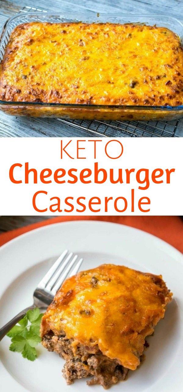 Keto Cheeseburger Casserole with Bacon