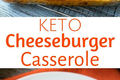 Keto Cheeseburger Casserole with Bacon