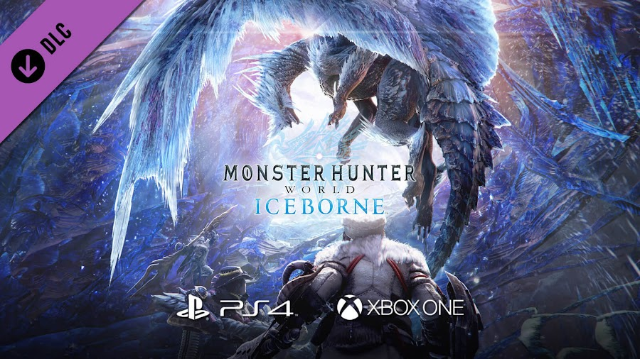 monster hunter world iceborne dlc expansion released ps4 xbox one capcom