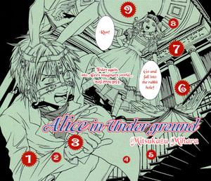 Alice in Underground Manga