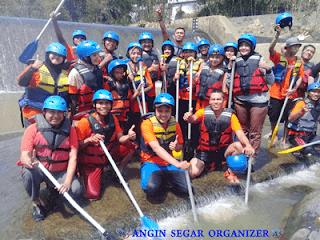 Rafting Bank Mandiri Syariah cabang Harapan Indah