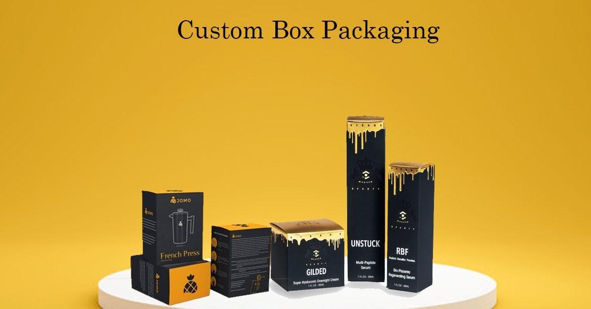 Custom CBD box packaging