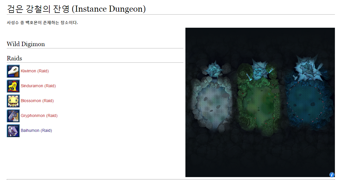 Tipstutorialguide digimon masters online this is the map of instance dungeon gumiabroncs Images