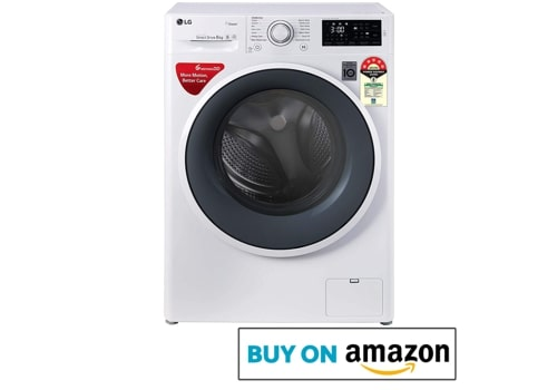 LG FHT1006ZNW 6Kg Fully Automatic Front-Loading Washing Machine