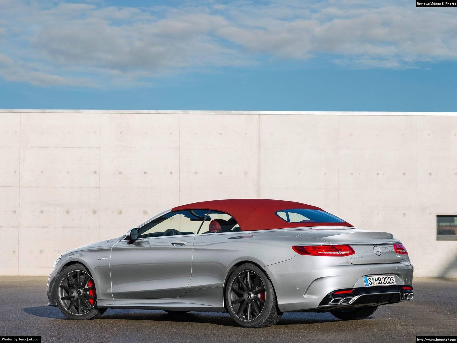 Hình ảnh xe ô tô Mercedes-Benz S63 AMG 4Matic Cabriolet Edition 130 2016 & nội ngoại thất