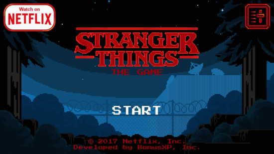 stranger things best game