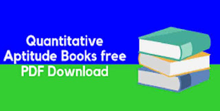 Quantitative Aptitude PDF Book