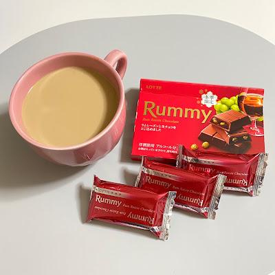 ラミー,チョコレート,冬季限定,ロッテ,Rummy