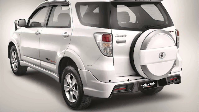 Desain Eksterior Toyota Rush