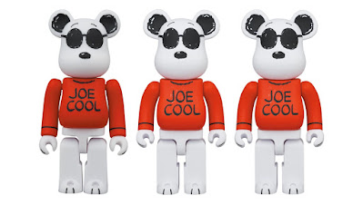 "Peanuts ""Joe Cool"" Snoopy Be@rbrick Vinyl Figures by Medicom Toy"